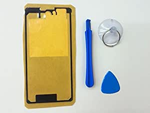Xperia Z1f (Z1 compact) SO-02F バックパネル用 両面テープ シール 工具付き ノーブランド品 [並行輸入品]
