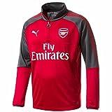 (プーマ)PUMA サッカーウェア アーセナル 1/4トレーニングジャケット 751703 [メンズ] 751703 03 チリ ペッパー/ダーク シャドウ L