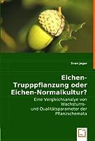 Eichen-Trupppflanzung oder Eichen-Normalkultur?: Eine Vergleichsanalye von Wachstums -und Qualitaetsparameter der Pflanzschemata