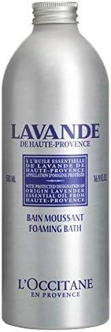 L'Occitane Relaxing & Foaming Lavender Bubble Bath, Standard, 16