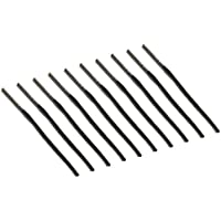オルルド釣具 渓流 延べ竿用 穂先 トップ 10本セット 選べる5サイズ(0.8mm/0.9mm/1.0mm/1.1mm/1.2mm) リリアン回転式 修理・リペア・交換・DIY用パーツ のべ竿 竿先 自作・修理キット qb500076