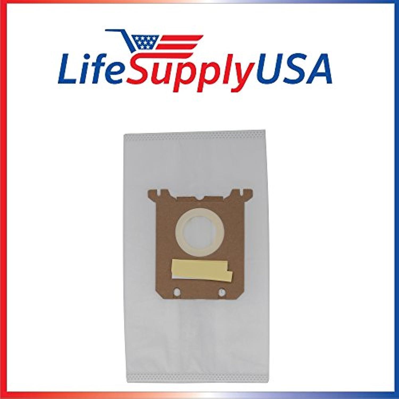 4パック真空バッグfor Electrolux Eureka S Ox Micro s-bag by lifesupplyusa