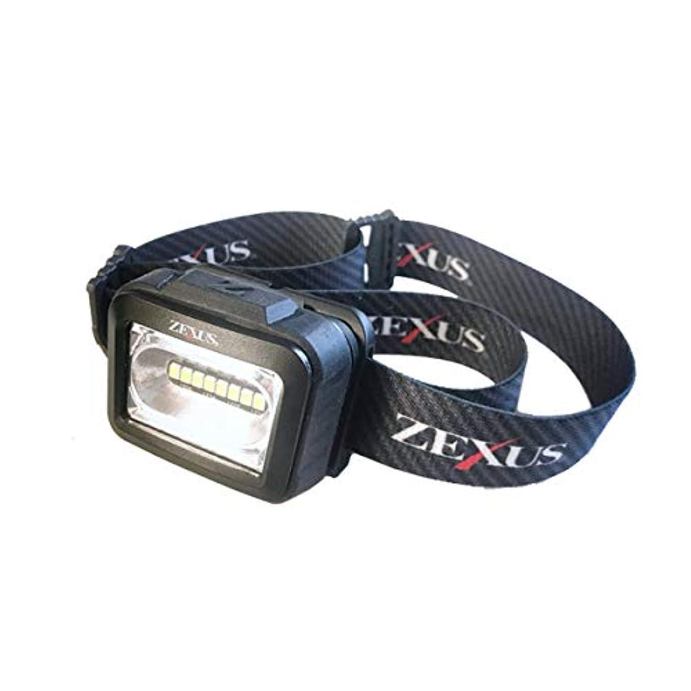 難しい流産履歴書ZEXUS LED ヘッドライト ZX-165 冨士灯器 フィッシング 夜釣り アウトドア キャンプ