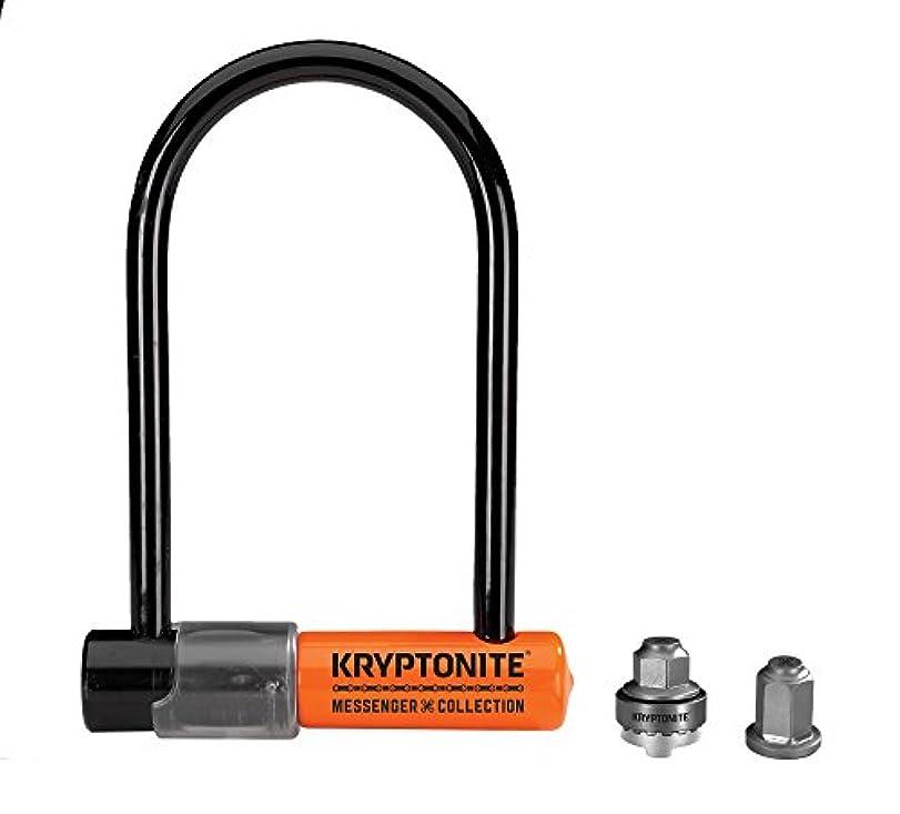 迷惑注目すべき聞きますKryptonite Messenger the Total Lock Package, 3.75 x 6.5-Inch by Kryptonite