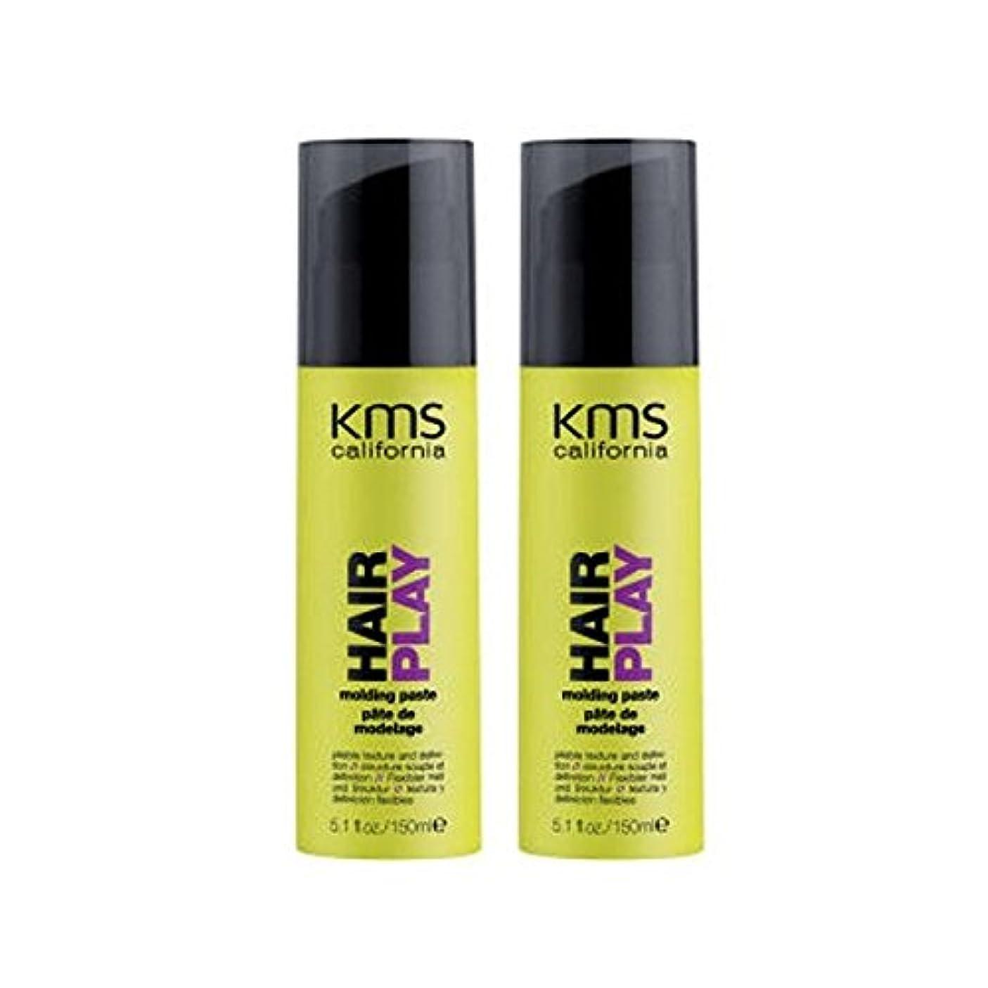 美しいティッシュへこみKms California Hairplay Molding Paste Duo (Pack of 6) - カリフォルニア成形ペーストデュオを x6 [並行輸入品]