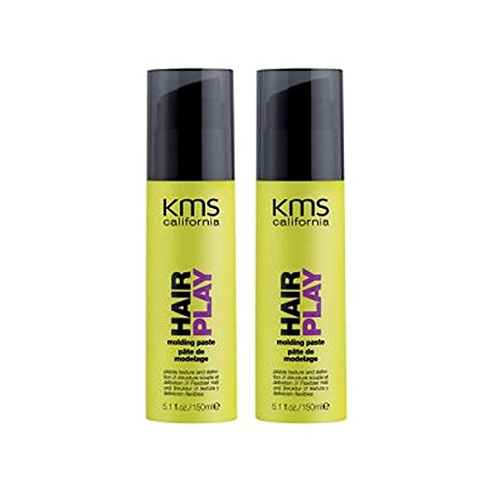 カリフォルニア成形ペーストデュオを x2 - Kms California Hairplay Molding Paste Duo (Pack of 2) [並行輸入品]