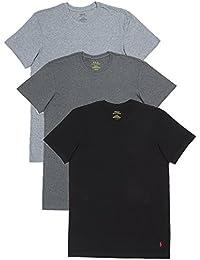 (ポロ ラルフローレン) POLO RALPH LAUREN 3枚セット 半袖 Tシャツ メンズ クラシックコットン クルーネック グレー 黒 [並行輸入品]