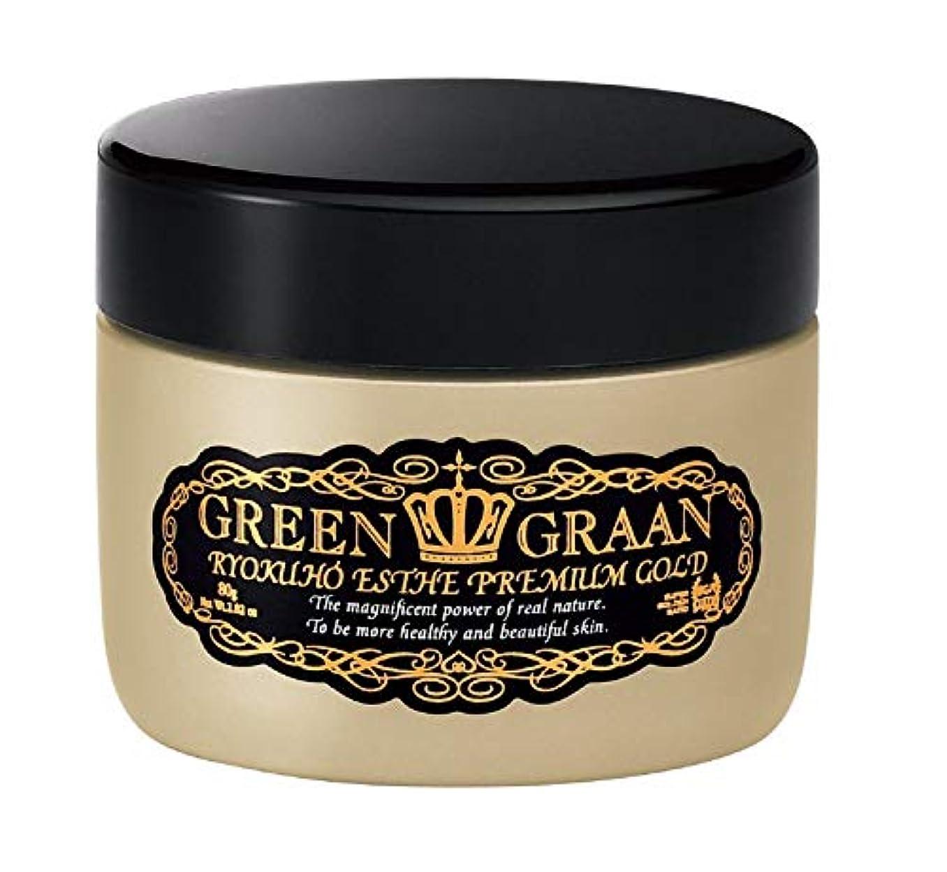 グリングラン 緑宝エステ プレミアムゴールド 80g (泡立てネット付き)