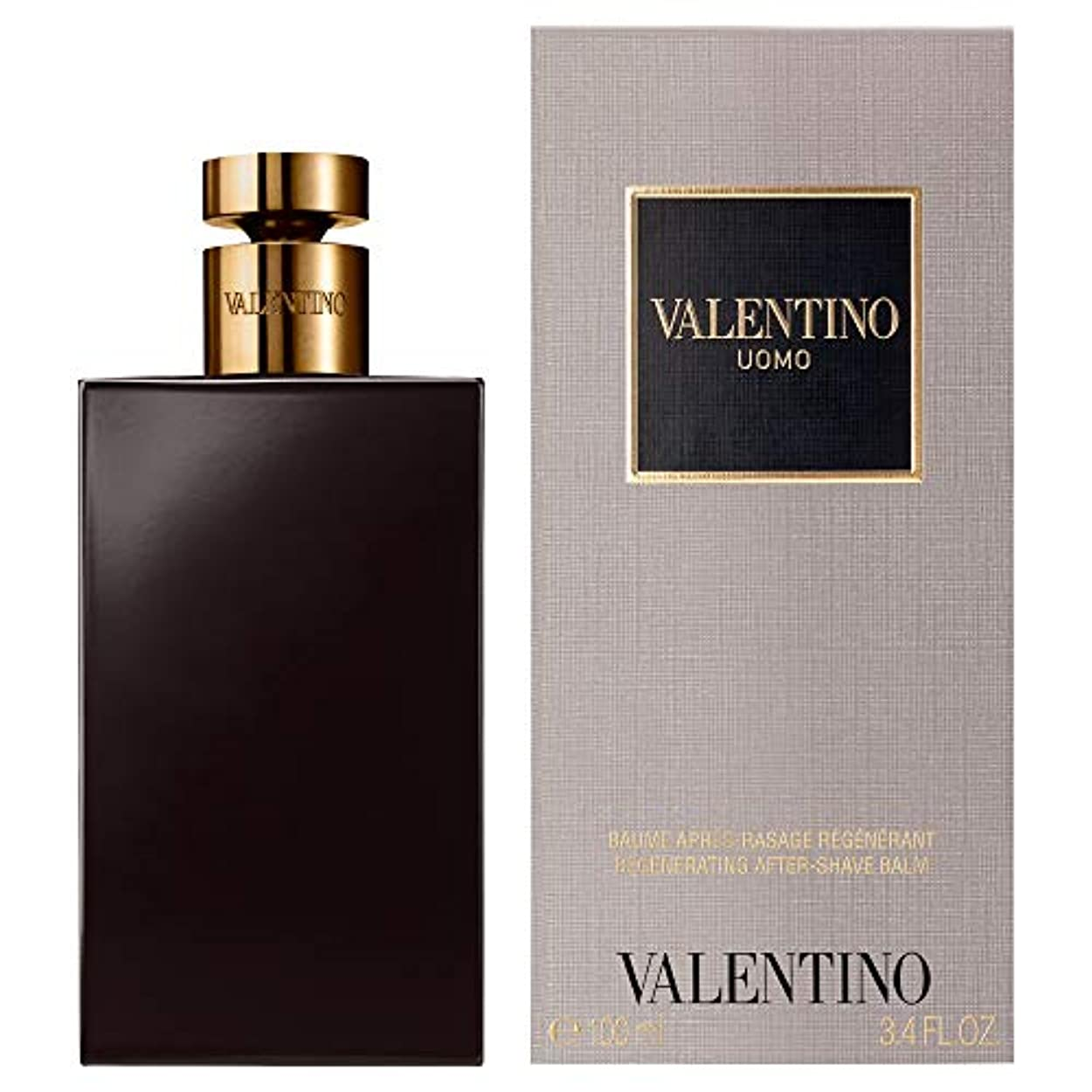 隠すヘロイン舞い上がる[Valentino] バレンティーノ?ウォモとしてバーム100ミリリットル - Valentino Uomo AS Balm 100ml [並行輸入品]