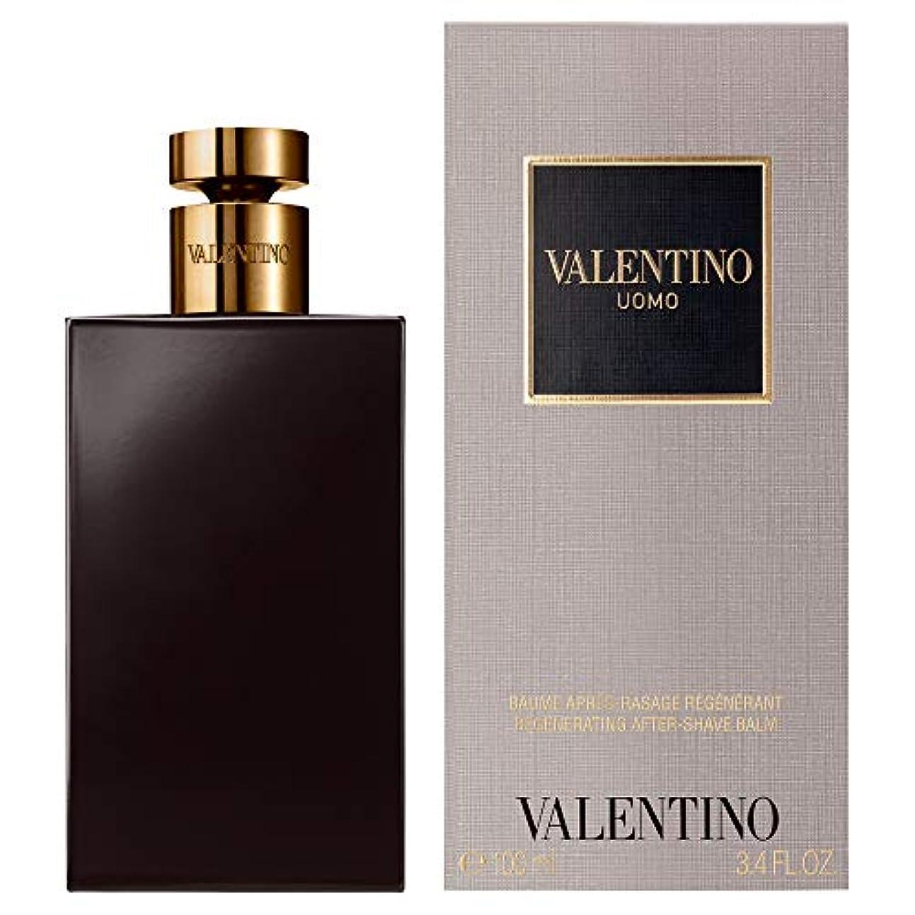 温かい一掃する残酷[Valentino] バレンティーノ・ウォモとしてバーム100ミリリットル - Valentino Uomo AS Balm 100ml [並行輸入品]