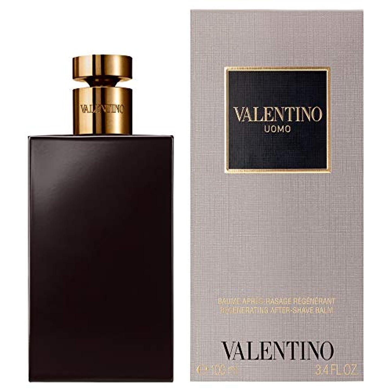 擁する履歴書バルブ[Valentino] バレンティーノ?ウォモとしてバーム100ミリリットル - Valentino Uomo AS Balm 100ml [並行輸入品]