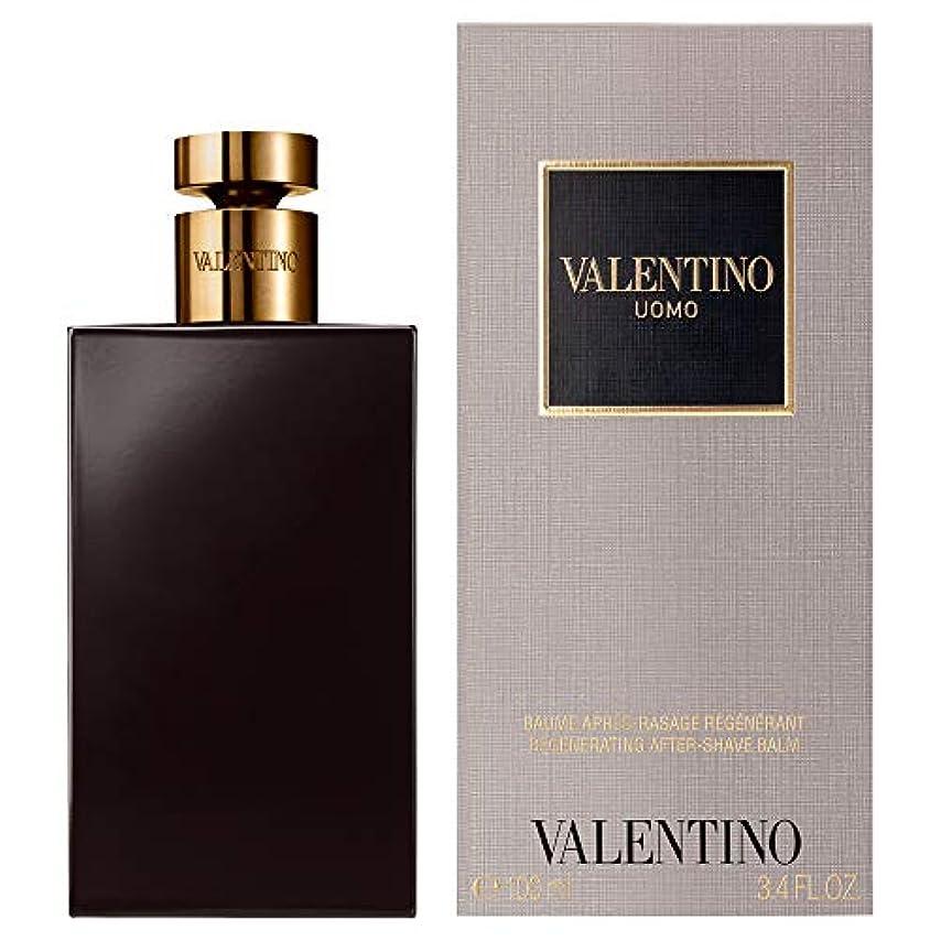 同盟現実的困難[Valentino] バレンティーノ?ウォモとしてバーム100ミリリットル - Valentino Uomo AS Balm 100ml [並行輸入品]