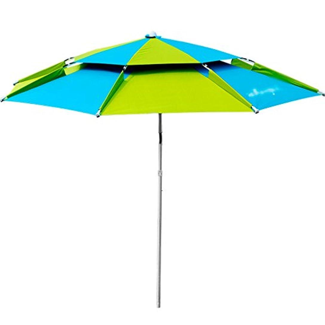 トライアスロン明らかにファンタジーLSS 屋外アンブレラ|釣り傘|傘| 2.2m |ユニバーサル|レインコート|釣り傘|屋外アンブレラ|サン傘|釣り傘|ブラックフィッシング傘 (サイズ さいず : 200cm)