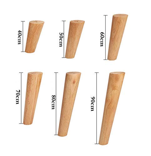 Accessories Support Foot X4, Wood DIY Furniture Leg Cabinet Foot Sofa footrest Leg Balance Leg/Support Heightening Foot