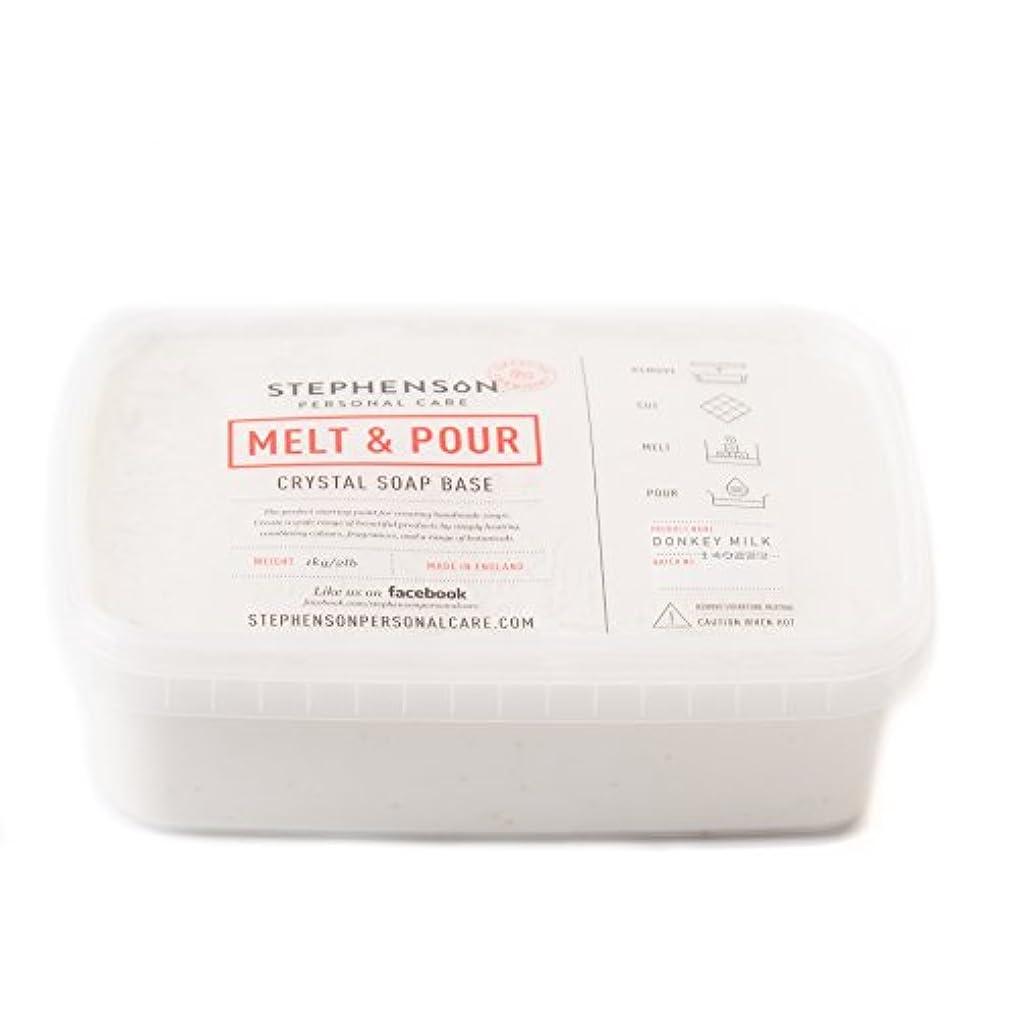 害溶融不変Melt and Pour Soap Base - Donkey Milk SLS FREE - 10Kg