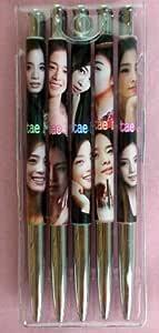 キム・テヒ 韓国製 ボールペン 5本セット 321