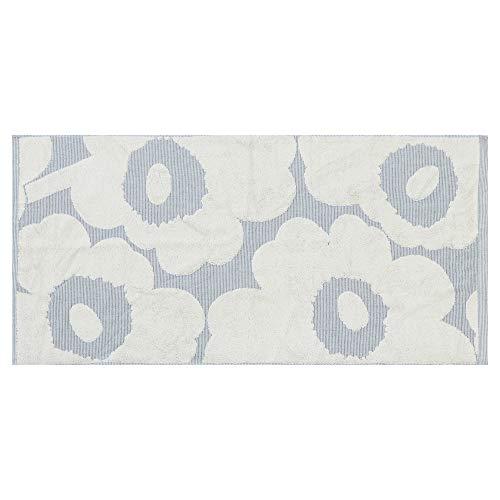マリメッコ タオル ウニッコ ハンドタオル 50x100cm Guest Towel Unikko Hand Towel 花柄 (カラー:Off-White/Blue) Marimekko [並行輸入品]
