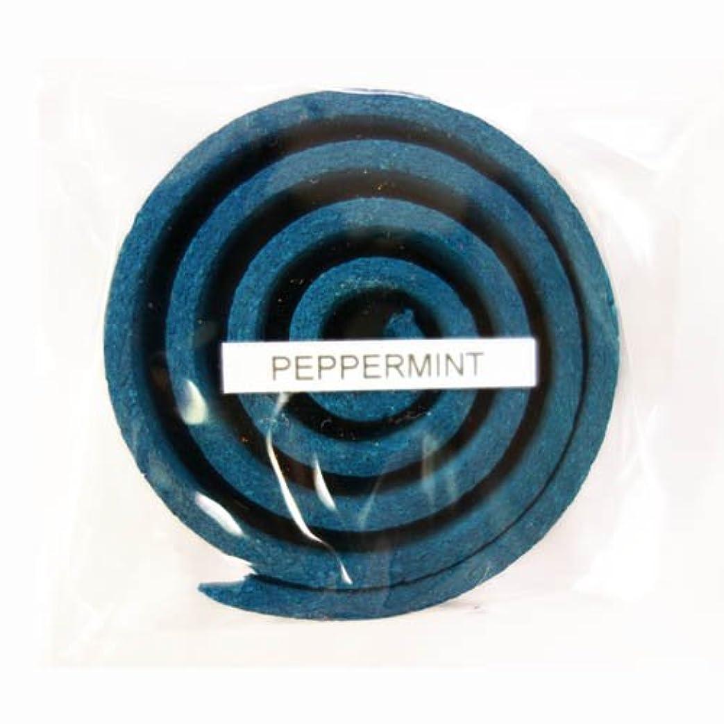 騒乱止まる批判的にお香/うずまき香 PEPPERMINT ペパーミント 直径5cm×5巻セット [並行輸入品]