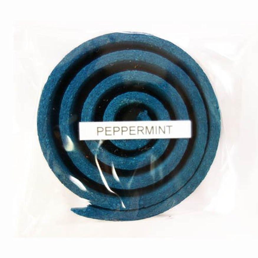 生まれサイレンブームお香/うずまき香 PEPPERMINT ペパーミント 直径5cm×5巻セット [並行輸入品]
