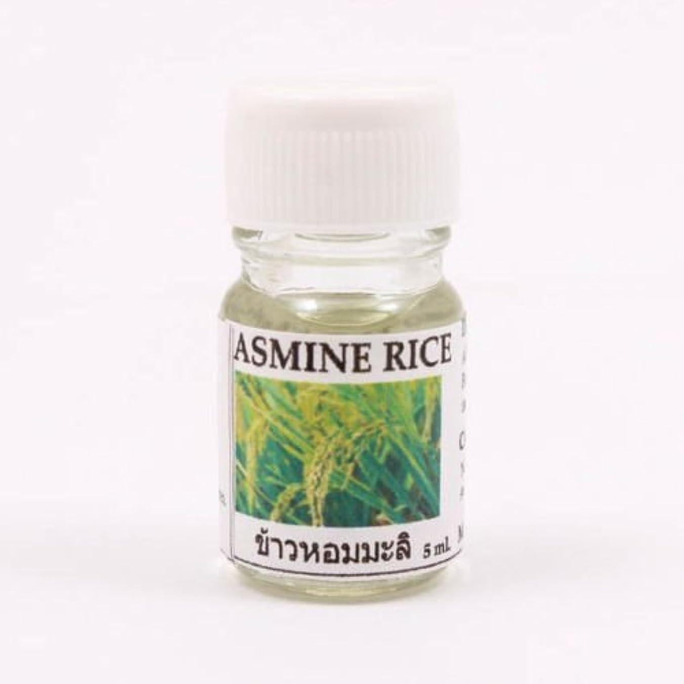 自信がある委任するマラソン6X Jasmine Rice Aroma Fragrance Essential Oil 5ML. (cc) Diffuser Burner