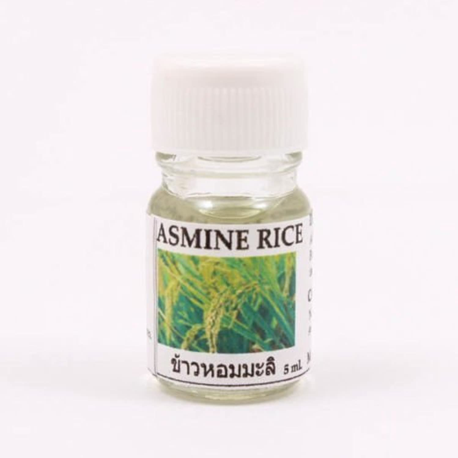 6X Jasmine Rice Aroma Fragrance Essential Oil 5ML. (cc) Diffuser Burner