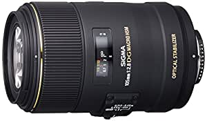 SIGMA 単焦点マクロレンズ MACRO 105mm F2.8 EX DG OS HSM ニコン用 フルサイズ対応 258559