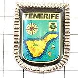 限定 レア ピンバッジ テネリフェ島スペイン紋章 ピンズ フランス