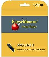 Kirschbaum(キルシュバウム) テニス ストリング Pro Line II black 120 ブラック