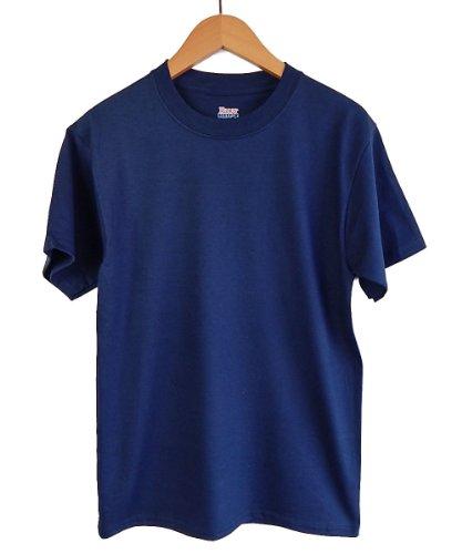 (ヘインズ) HANES BEEFY T SHIRTS ビーフィー 無地 ヘビーウェイト Tシャツ 【並行輸入品】 (S, ネイビー)