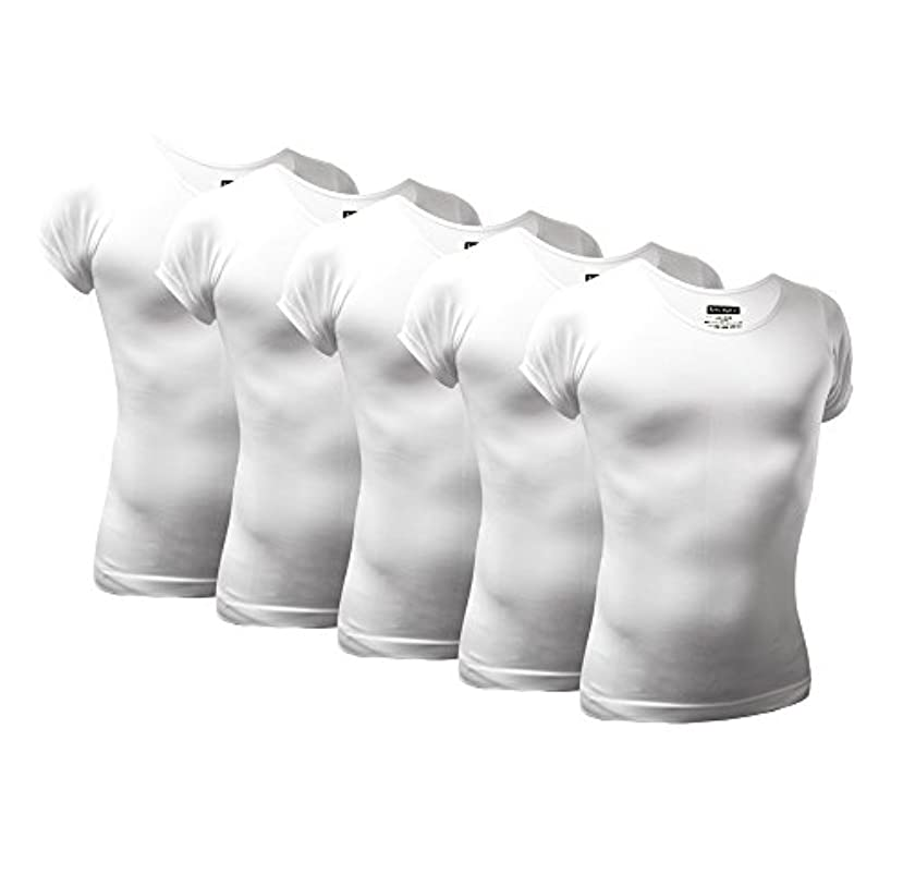 スーツ十液化する[Active Armor]加圧インナー シャツ 補正下着 姿勢矯正 ダイエット 着圧 コンプレッションウェア