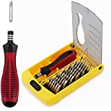 Apsung 37 in 1 Precision Screwdriver Set,Professional Screwdriver Set,Multi-function Repair Tool Kit for Repair iPhone,Android,Computer,Laptop,Watch,Glasses,PC etc.
