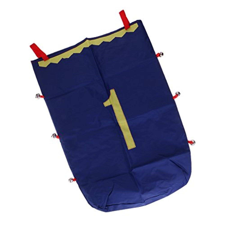 SONONIA 50x70cm ジャンプ袋 おもちゃ レースバッグ バランス トレーニングツール 屋外スポーツ - 青1