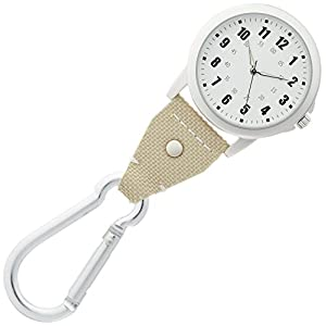 [フィールドワーク]Fieldwork 腕時計 フックウォッチ マルコ アナログ 夜光文字板 ベージュ DT134-1