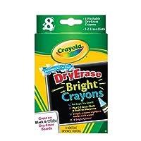 scbbin985202–11–Crayola Dry Erase Bright 8Countパックof 11