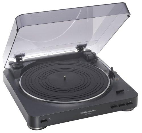 audio-technica ステレオターンテーブルシステム AT-PL300 BK