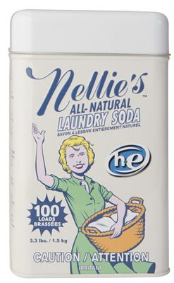 Industries Nellie'sAll Natural Laundry Soda, 3.3 lbs (3) by Nellie's