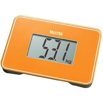 TANITA スモールスケール 【持ち運びに便利なA5サイズより小さい小型設計】 オレンジ HD-386-OR