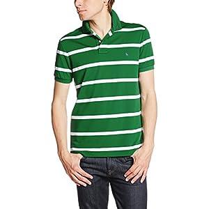 (ポロラルフローレン)POLO RALPH LAUREN ポロシャツ 半袖 【並行輸入品】 MNBLKNIM1I10274 D84 GREEN STRIPE (D84) XS
