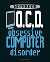 Notebook: off and turn on computer scientist nerd - 50 sheets, 100 pages - 8 x 10 inches