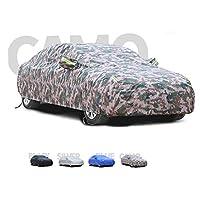 車体カバー メルセデス・ベンツクラスBと互換性のある車のカバー、厚くて綿のビロードのフードは、あらゆる種類の天気に適応できます (Color : D, Size : 2017 B 180)