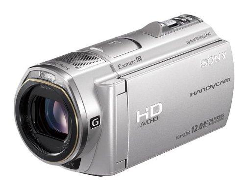 ソニー SONY デジタルHDビデオカメラレコーダー CX500V 内蔵メモリー32GB シルバー HDR-CX500V/S
