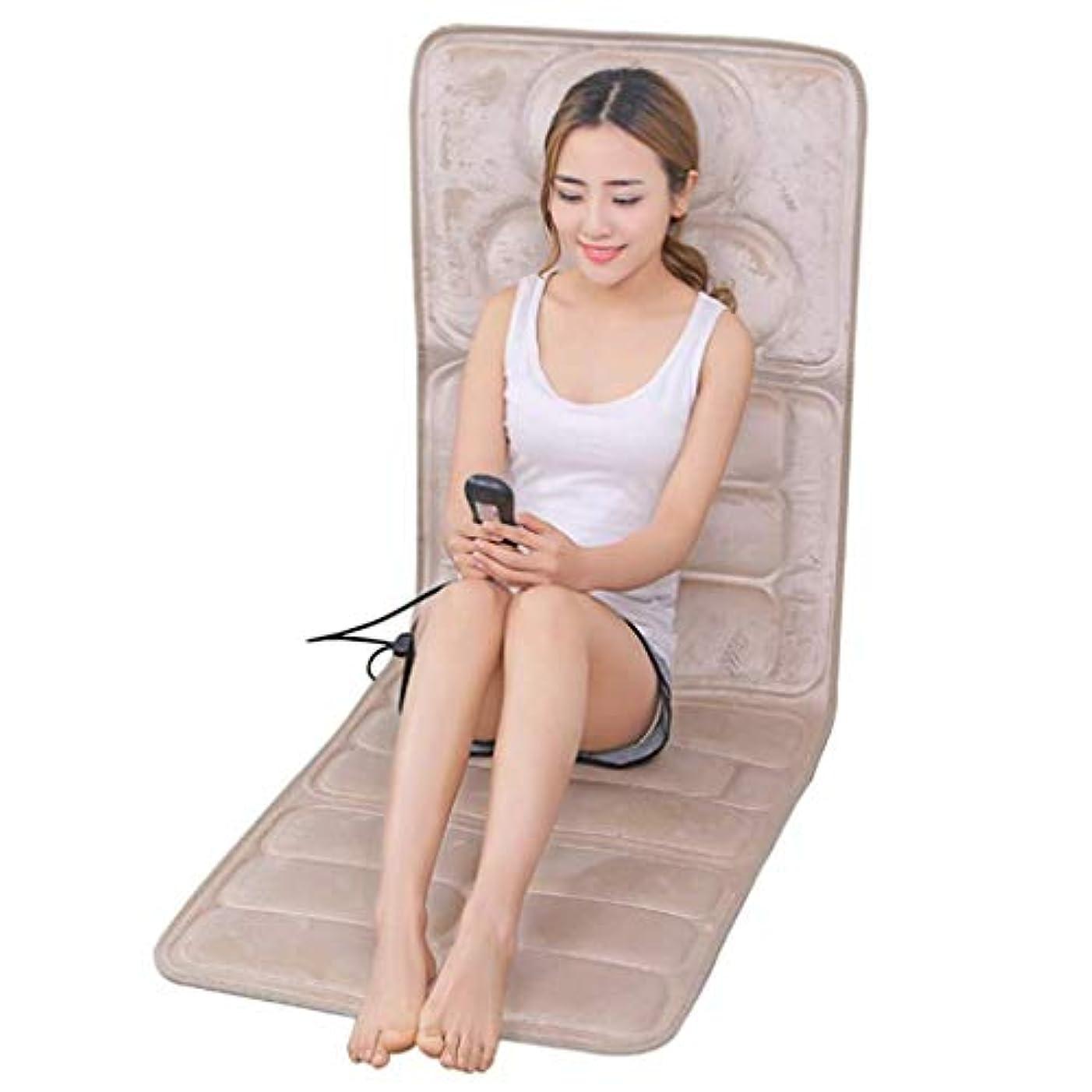眠っているリズム大声で電気マッサージクッション、熱/指圧の深いこねる完全なボディ赤外線マッサージャーのクッション、振動マッサージの完全な背部は、苦痛/圧力を取り除きます