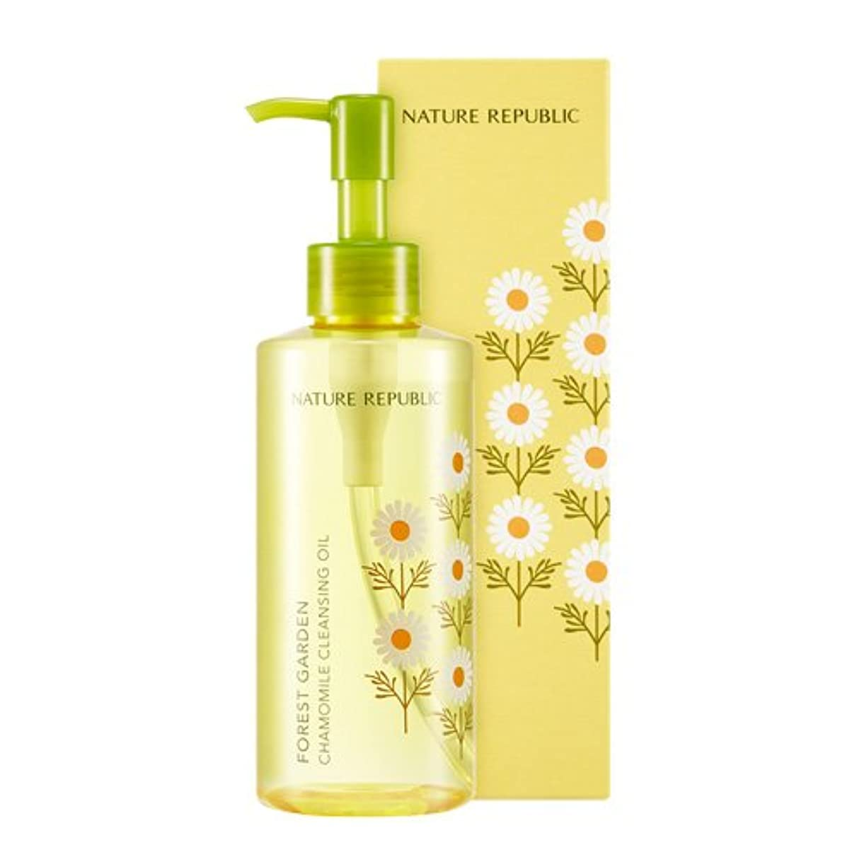[Nature Republic] ポルセットガーデンカモミールクレンジングオイル Forest Garden Chamomile Cleansing Oil 200ml [並行輸入品]