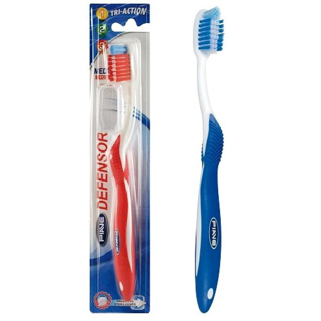 バージン許す脅かすディフェンサー歯ブラシ