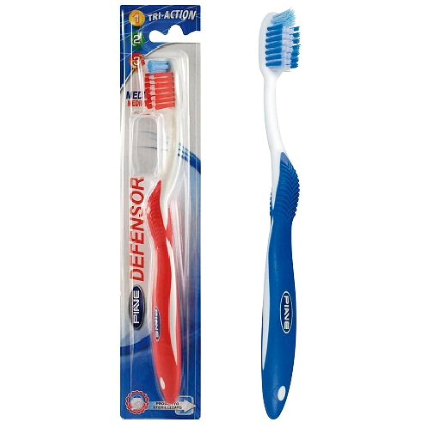 提出するオーバードロー誇りに思うディフェンサー歯ブラシ