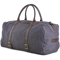 Gootium Canvas Duffle Bag - Travel Duffel Luggage Overnight Holdall Weekend Bag
