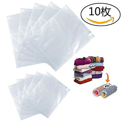 衣類圧縮袋 M・L 各5枚組 圧縮率75%