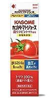 カゴメ トマトジュース 高リコピントマト使用1L×12本 ホームパック/クール便[機能性表示食品]
