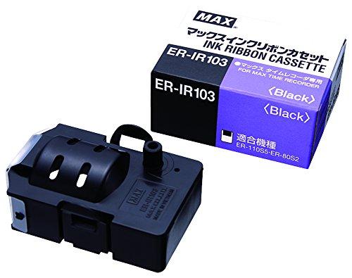 マックス タイムレコーダー用インクリボン ER-IR103 1個