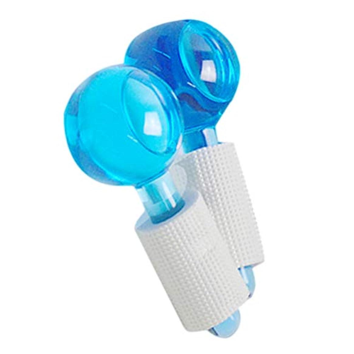 高音費用把握HEALLILY アイスローラーグローブフェイシャルローラーコールドスキンマッサージャーマジックグローブ用発赤鎮静副鼻腔リリーフ2ピース